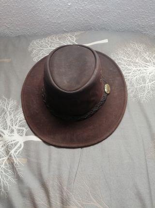 Sombrero de piel estilo Australiano Jacaru