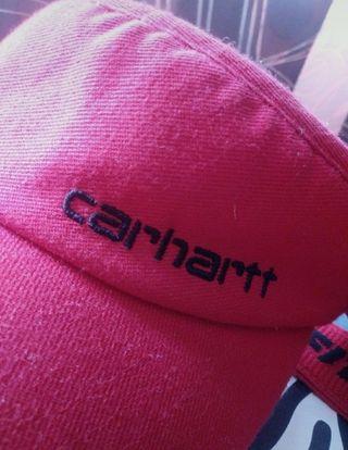 Visera roja Carhartt