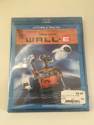 Wall-E Blu-ray Disney Pixar Precintado