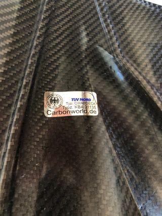 Aleta de carbono ducati 848/1098/1198