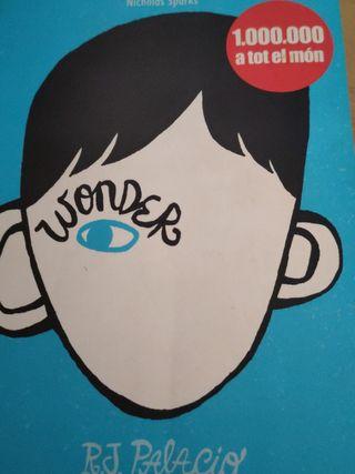 Libro Wonder en Catalan