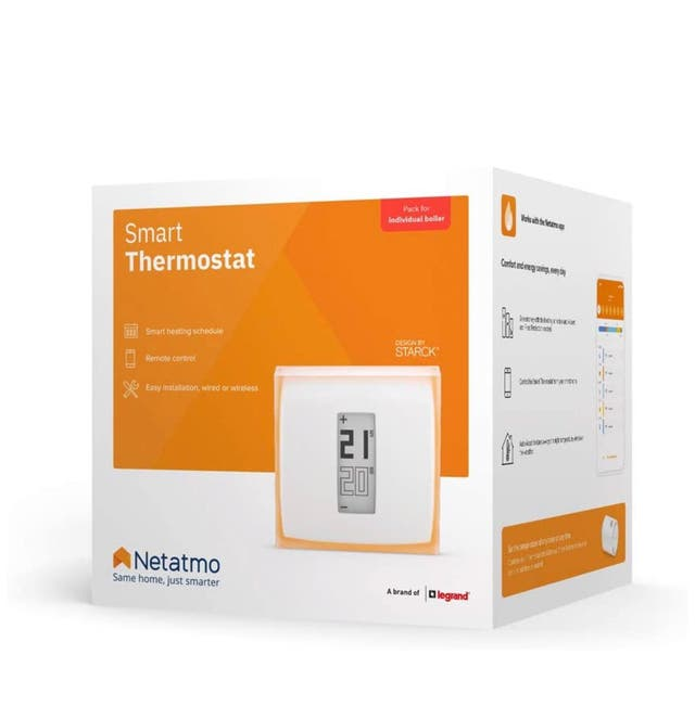 Instalación termostato Netatmo wifi