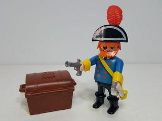 Playmobil 3382 Capitan Pirata Barco Corsario Cofre