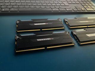 Memoria RAM 32GB. Corsair Vengeance RGB 3600 4x8GB
