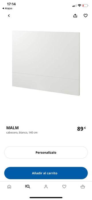 Cabecero MALM IKEA