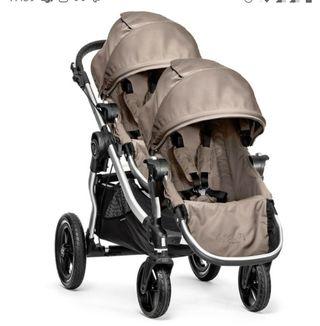 Carro cochecito gemelar Baby jogger