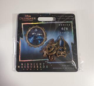 Set Pins Hades Edición limitada de Disney