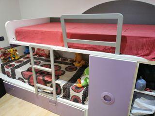 Literas tren con cama nido