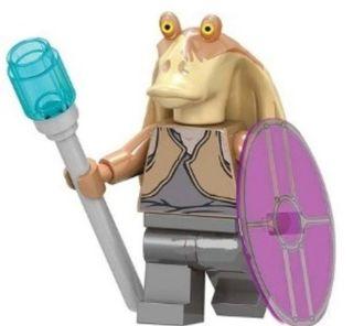 Minifigura lego compatible jar jar