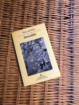Libro Invisible de Paul Auster