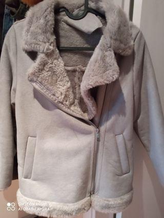 abrigo niña Zara
