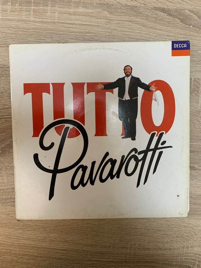 Vinilo Tutto Pavarotti