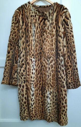 Abrigo de gato salvaje (leopardo)