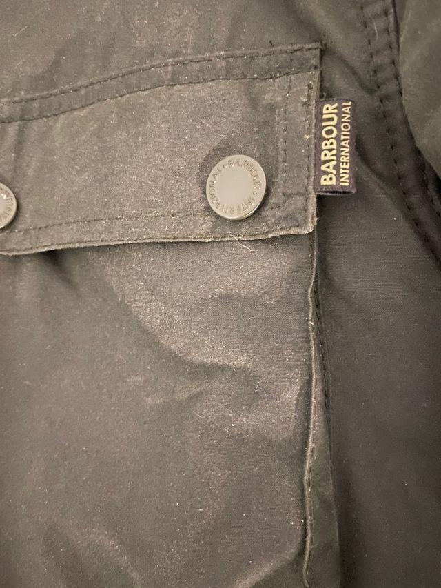 Barbour International Blackwell wax jacket