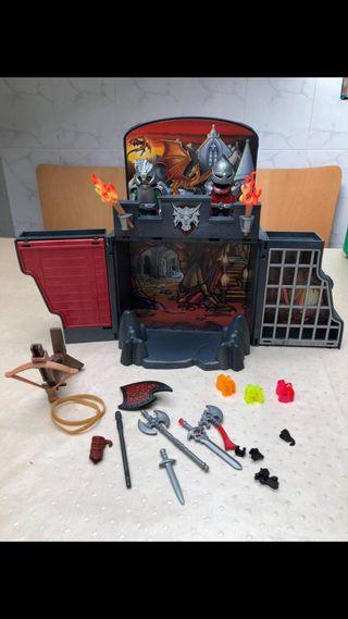 Playmobil maletín cofre de la guarida