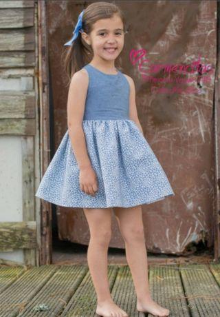 Vestido 6 Años Carmencitas