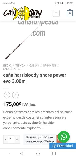 pesca spinning