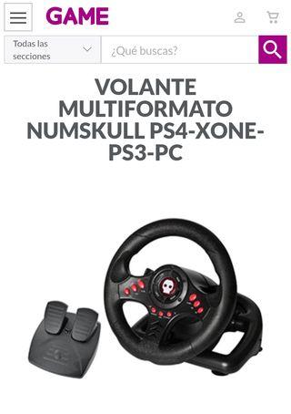 volante para ps4