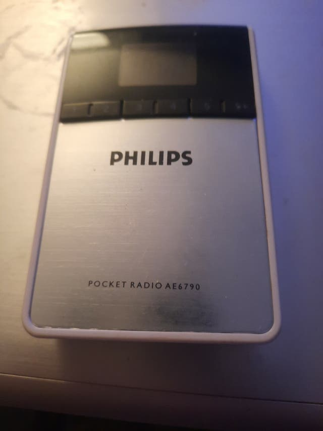 radio Philips poco uso
