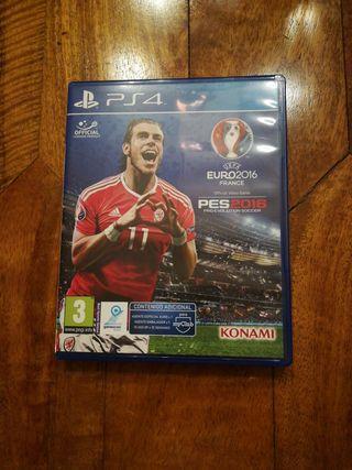 PES 2016 - Juegos PS4