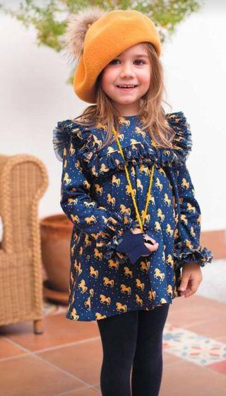 Vestido 7 Años Mon Petit