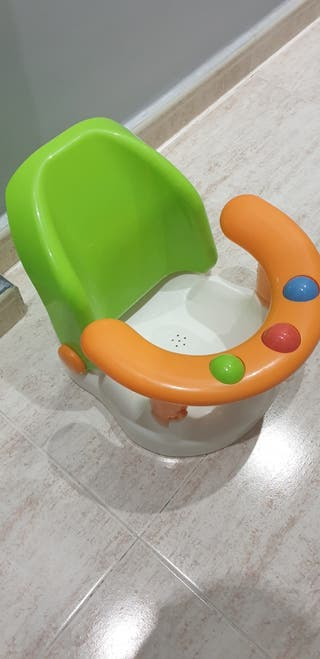 Silla de baño bebé