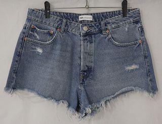 Shorts vaqueros claros Zara (sin estrenar)