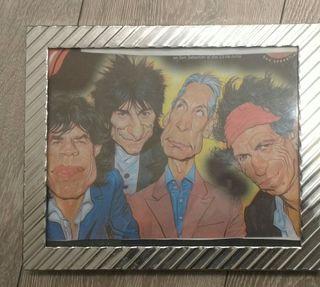 Cuadro Rolling Stones