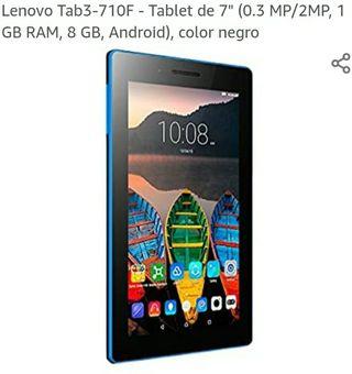 """Tablet Lenovo 7""""con Funda de Regalo"""