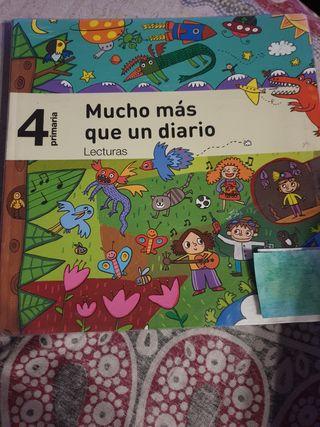 """Libro """"Mucho más que un diario""""SM 4° de primaria"""