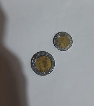 lote monedas mexico