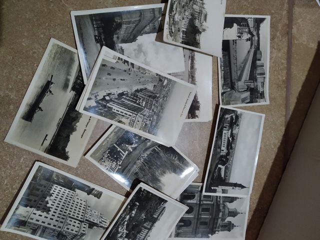 25 postales antiguas MADRID