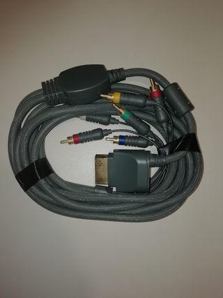 Cable por componentes xbox 360