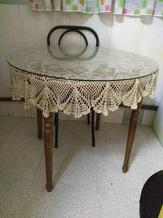 mesa comedor/cocina 4 sillas
