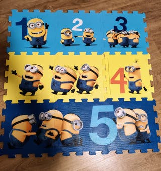 Puzzle alfombra bebé
