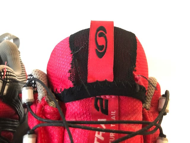 Zapatillas Salomon Trekking Gore Tex Rojo