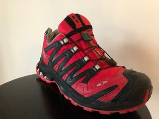 Zapatillas Salomon Trekking Gore Tex Rojo