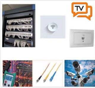 Técnico instalador de fibra óptica