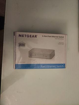 switch enrutador Netgear