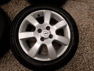 Llantas aluminio 15 pulgadas Opel Corsa C