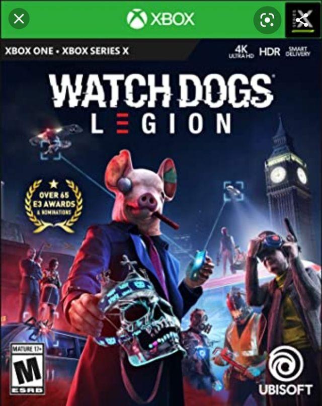 Watch Dogs Legion Xbox series x series s Xbox one