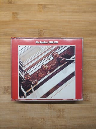 THE BEATLES, CD Rojo Éxitos 1962-66