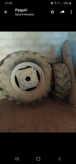 juego de ruedas de tractor seminuevas