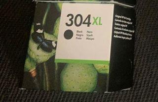 Cartucho HP 304 negro XL