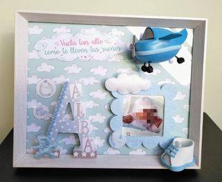 Cuadro personalizado bebé