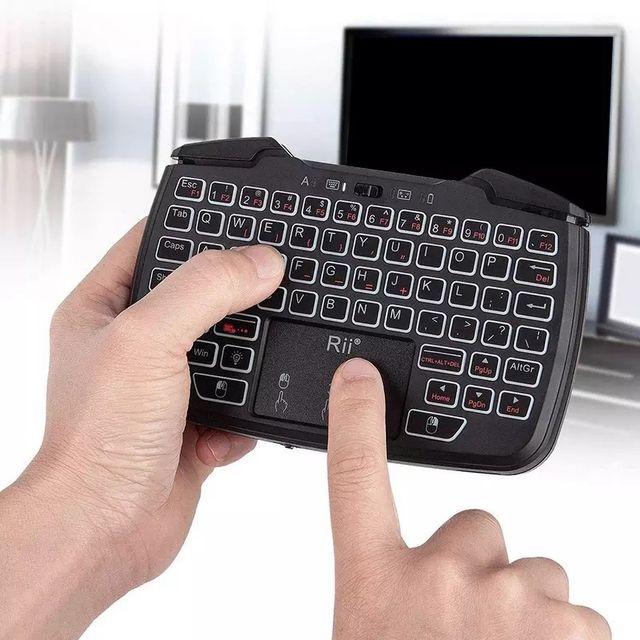 Mando 3 en 1 para Smart TV y videojuegos kodi