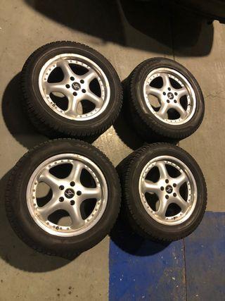 Llantas 17 Volkswagen con neumáticos
