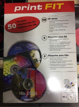 Etiqueta CD \ DVD impresora