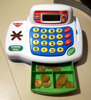 Calculadora - Caja registradora de juguete