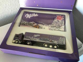 Precioso camión de colección MILKA Albedo 1:87